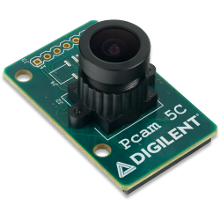 Pmod 5C MP Fixed Focus Color Camera Module